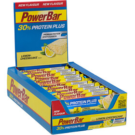 PowerBar ProteinPlus 30% - Nutrition sport - Lemon Cheesecake 15 x 55g